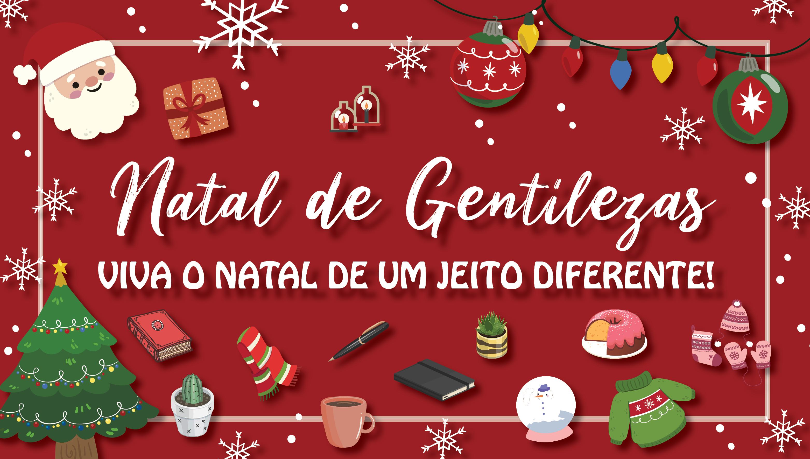 Hoje (06) inicia o Natal de Gentilezas do campus Serra