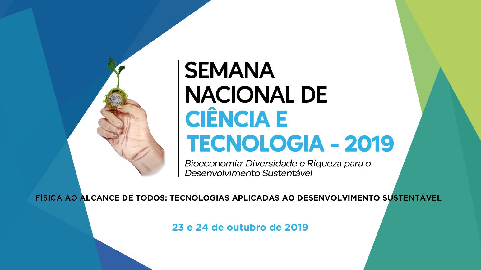 Semana Nacional de Ciência e Tecnologia acontece no Campus Serra nos dias 23 e 24 de outubro